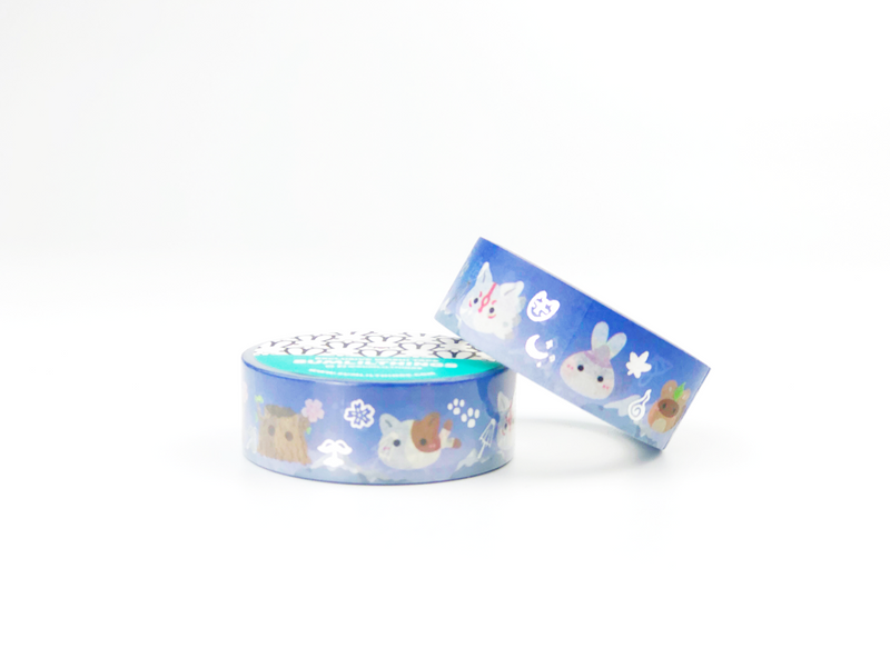Lil' Yokai Washi Tape - GOLD FOILED