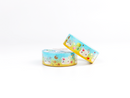 Lil' Misfits Doll - Ocean Sands - Washi Tape - GOLD FOILED