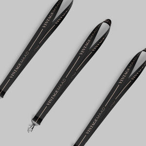 Lanyard - VM Stripe (Black)