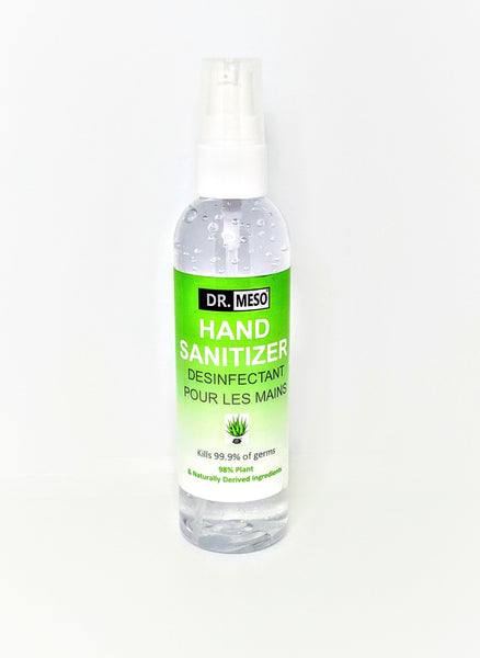 Hand Sanitizer 4oz (120ml) X 3 - Drmeso