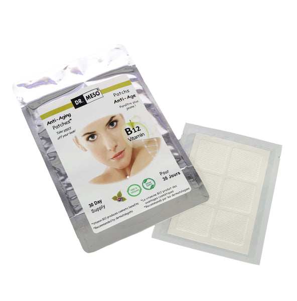 Vitamin B12 Anti-Ageing Patches