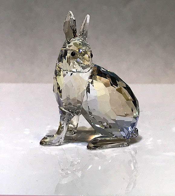 Arctic Hare by Swarovski - SCS Event Exclusive Ltd Edition by Sawrovski - item 1055005
