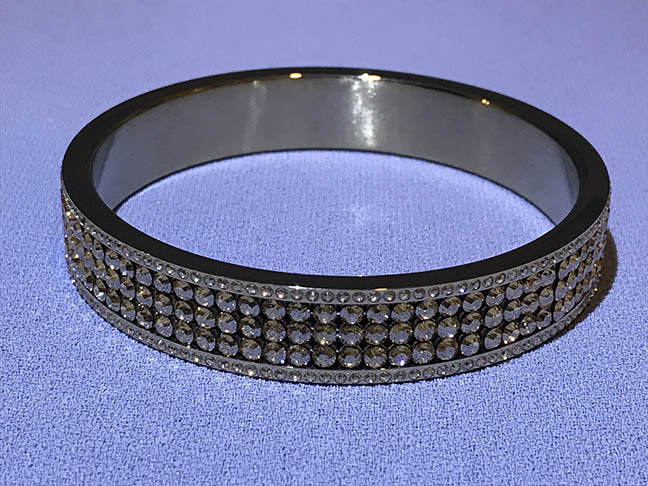 Gold Colored Bangle Bracelet by Swarovski - Item  1110431