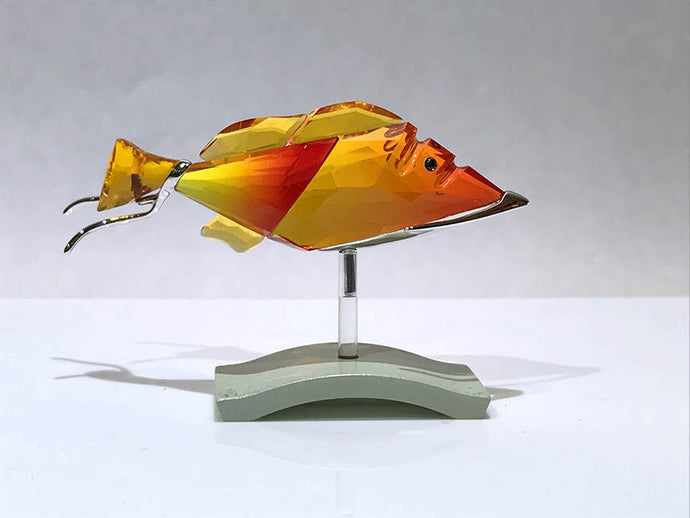 Crotone Fire Opal Fish by Swarovski - Item 626202