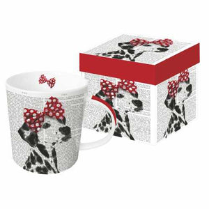 "Gift Boxed Porcelain Mug - ""Dolly"" by PAPAYA Art"