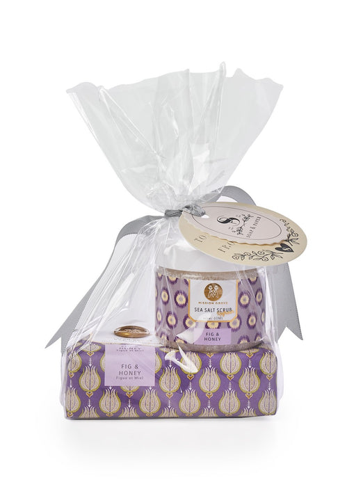 Fig & Honey Soap & Scrub Set