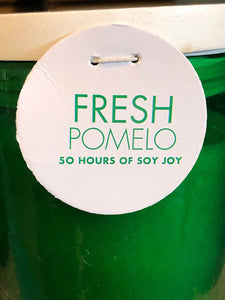 Fresh Pomelo - Soy Wax Scented Jar Candle by Napa Home
