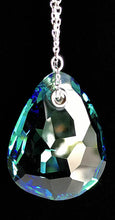 Multi-Colored Teardrop Pendant Crystal Necklace by Swarovski