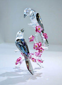 """Spirit Loving Magpies"" Bird by Swarovski - Item 5004639"