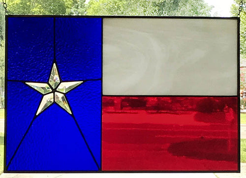 Texas Flag - Stained Glass