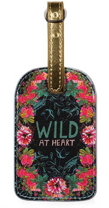 Luggage Tag - Wild at Heart