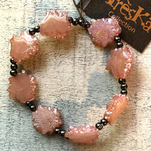 Pink Rock Braclelet- Nebula Collection by Treska