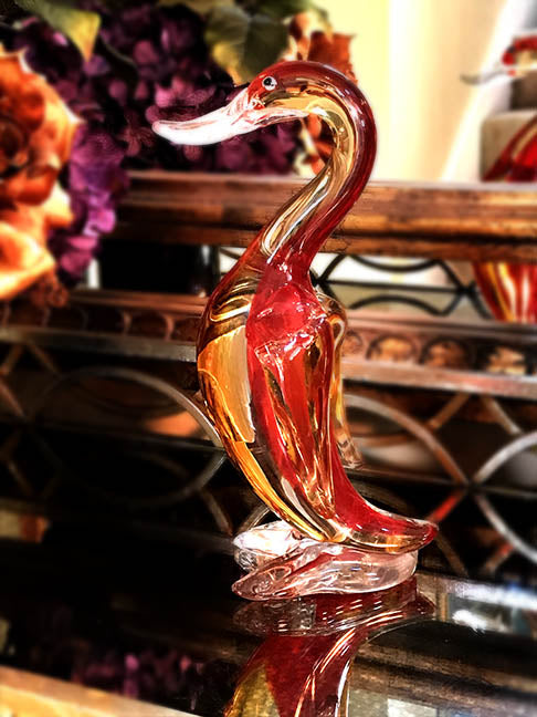 Dale Tiffany Red Wigeon Duck Figurine