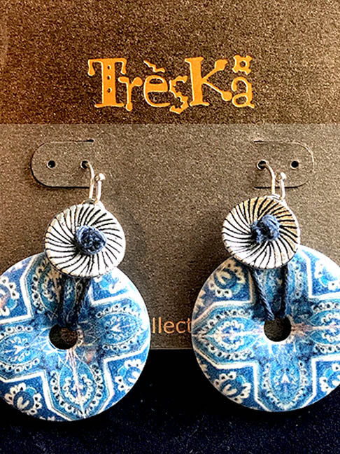 Andalucia Donut Drop Earrings - Andalucia Series by Treska