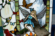 Fairy in Garden- Stained Glass
