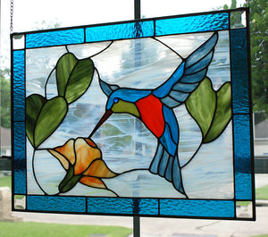 Hummingbird - Stained Glass