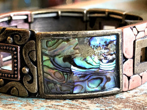 Bracelet - with Mother of Pearl - item 1