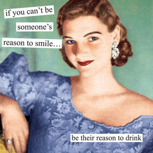 """Reason to Drink""  Dinner Napkins - 20 pack"