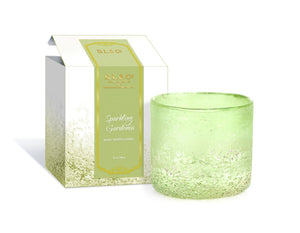 D.L. & Co - Sparkling Gardenia Pebble Candle Straight - 14 oz