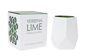 D.L. & Co - Verbena Lime Soy Wax Candle - 8 oz