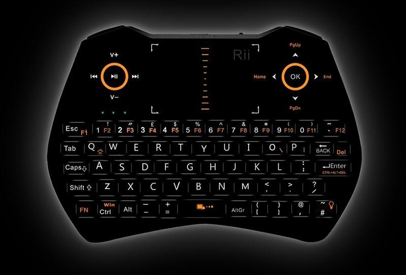 Rii i28C 2.4G Mini Wireless Keyboard - Ultimate Gaming Equipment