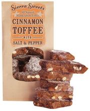 Load image into Gallery viewer, - CINNAMON TOFFEE WITH SALT & PEPPER
