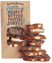 Load image into Gallery viewer, - PEANUT BUTTER PRETZEL TOFFEE
