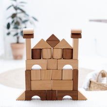 Load image into Gallery viewer, wooden-joy - Toddler Blocks (30 Blocks) - Toddler Toys