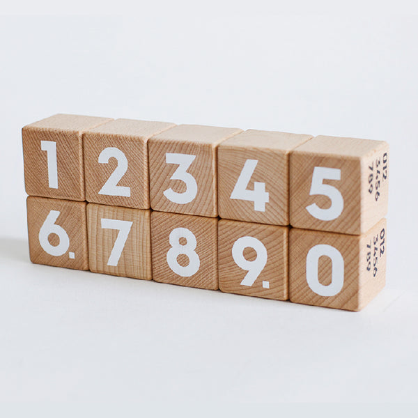 Number and Alphabet Blocks