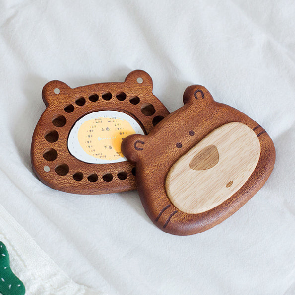 wooden-joy - KeKe Bear Tooth Storage Box - Lifestyle