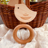 GiGi Chick Baby Rattle/Teether