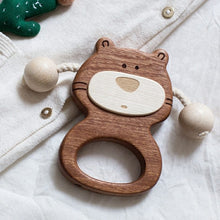 Load image into Gallery viewer, wooden-joy - Keke Bear Baby Rattle - Baby toys