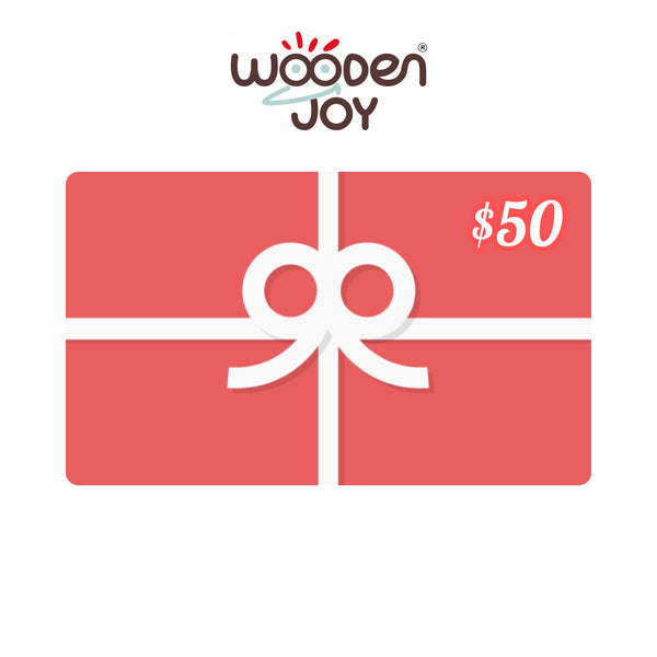 Wooden Joy Gift Card