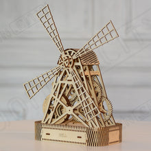 Load image into Gallery viewer, Wooden Puzzle - Mill