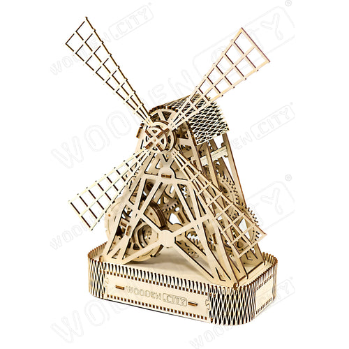 Wooden Puzzle - Mill