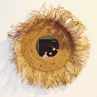 Straw Rope Wall Mirror(Pre-Order)
