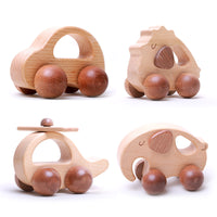 Wooden Toy Car Set for toddlers