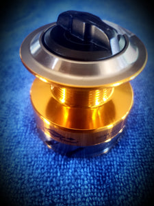 Aluminum Spool and Drag Knob  for SCRV.2 Spinning Reel