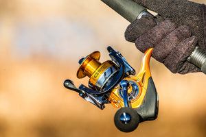 Smart Connect Gold Series Bluetooth Fishing Reel