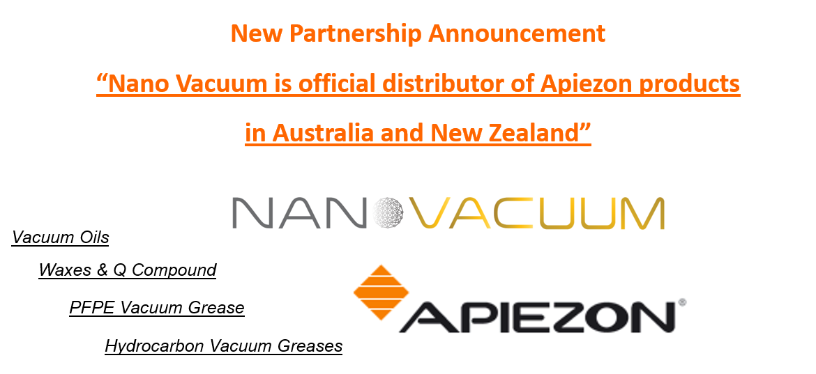 Nano Vacuum is the Official Distributor of Apiezon Products