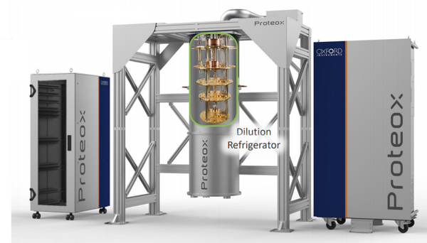 The ProteoxTM dilution refrigerator from Oxford Instruments
