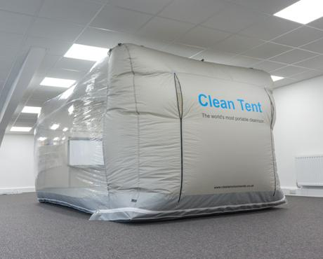 Clean Tent Model 750 Portable Cleanroom - Nano Vacuum