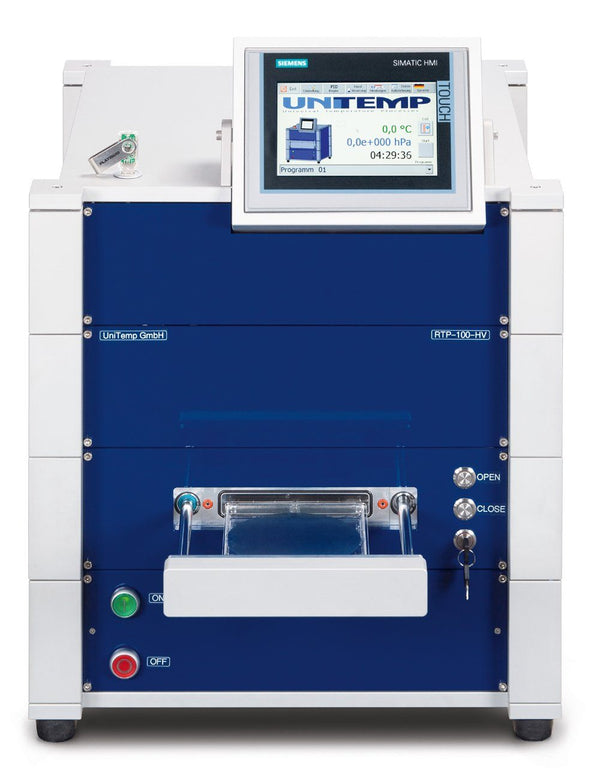 RTP-100 Rapid Thermal Annealing (RTA/RTP) Oven - Nano Vacuum Australia & New Zealand