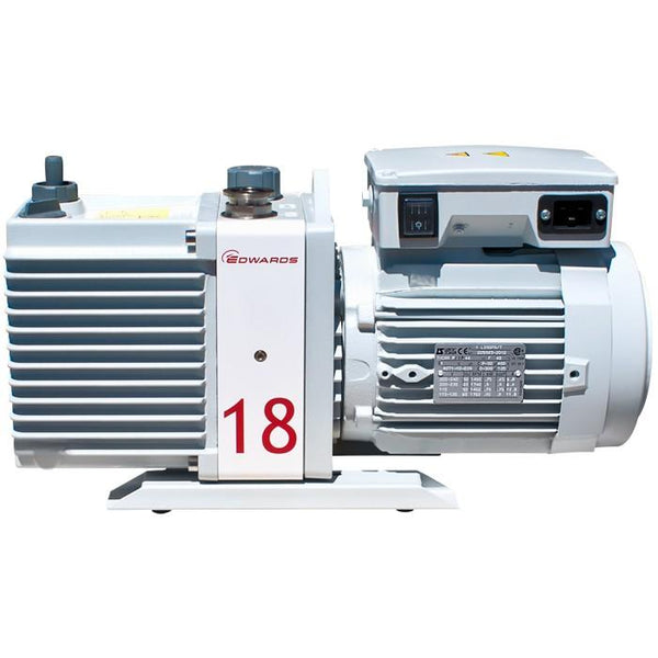 Edwards E2M18 Rotary Vane Vacuum Pump (1ph Motor 115/230V, 50/60Hz) - Nano Vacuum Australia & New Zealand