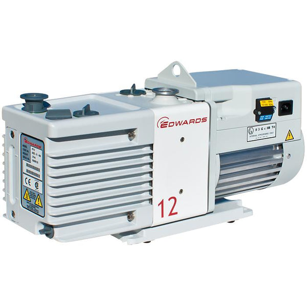 Edwards RV12 Rotary Vane Vacuum Pump (1ph Motor 115/230V, 50/60Hz) - Nano Vacuum