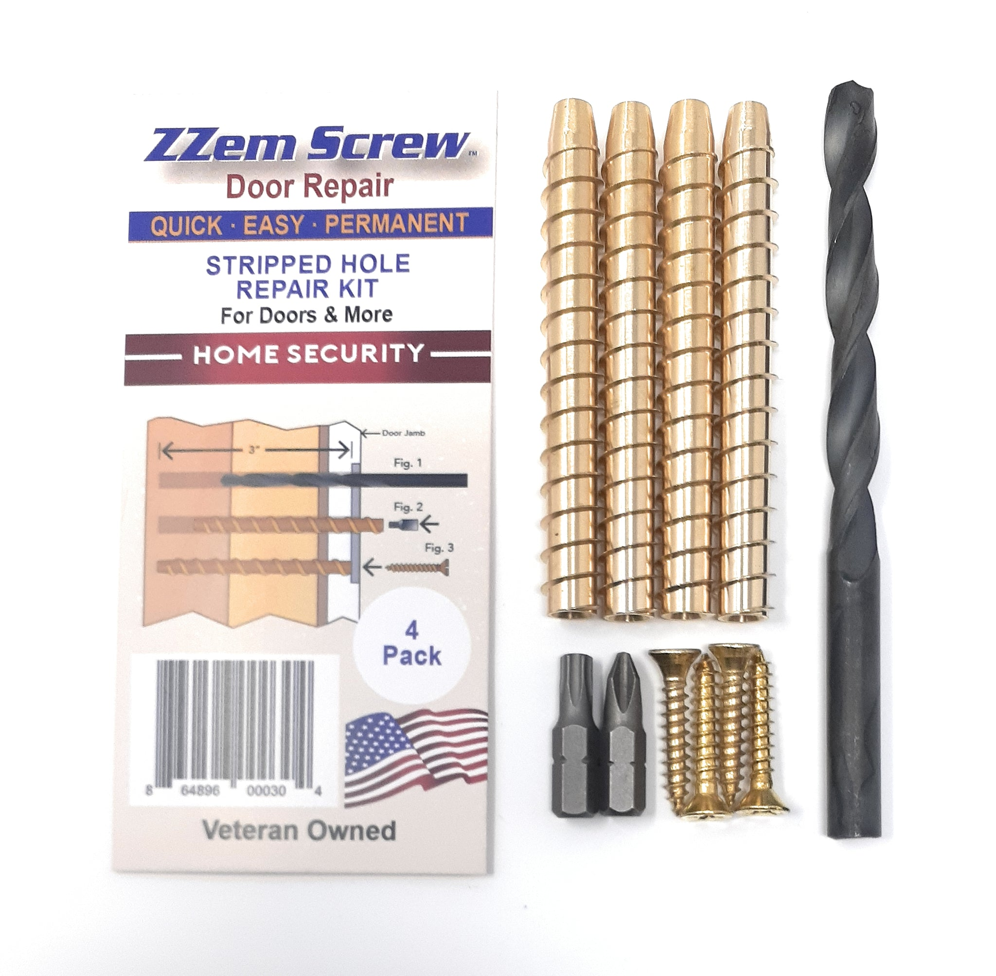 Stripped Screw Repair In Minutes....Permanently! By ZZem Screw