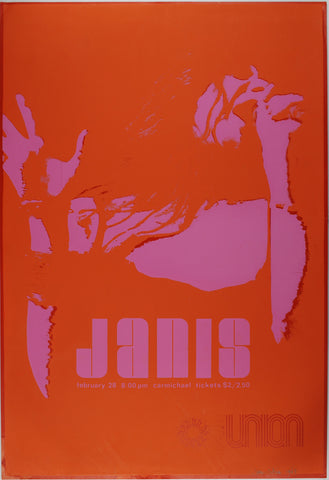 Janis Joplin, UNC Chapel Hill *Excellent 79*