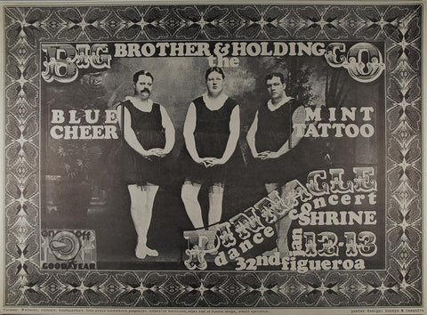 Big Brother and the Holding Company, Shrine Auditorium *Mint Condition*