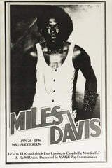 Miles Davis, MSU Auditorium *Near Mint*