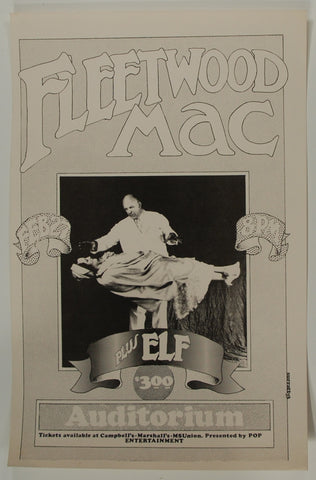 Fleetwood Mac, MSU Auditorium *Near Mint*